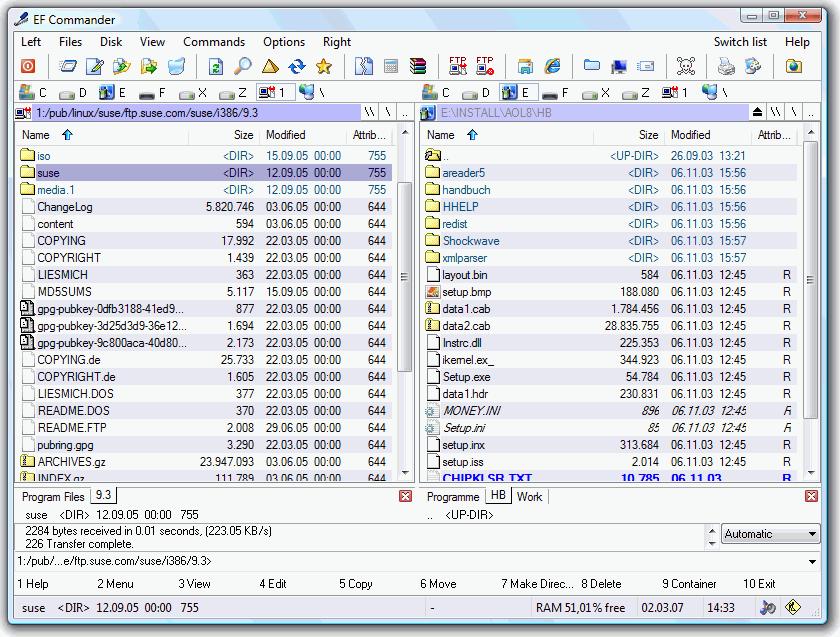 файл коммандер